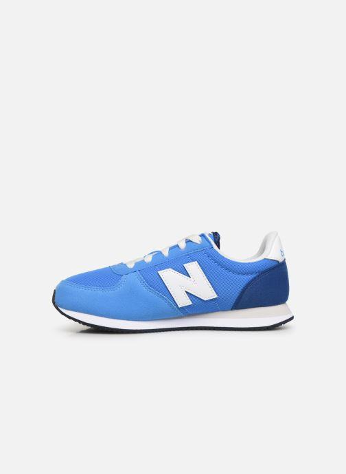 Sneakers New Balance YC220 M Blå se forfra