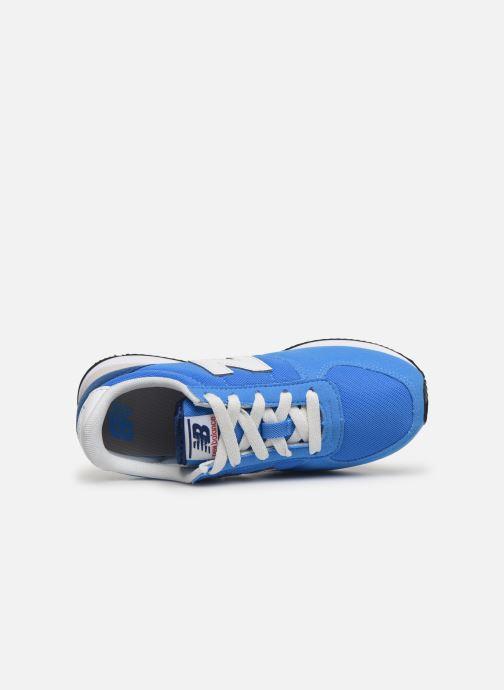 Sneakers New Balance YC220 M Blå se fra venstre