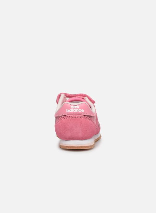 Trainers New Balance IV520 M Pink view from the right