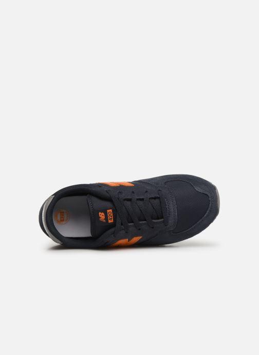 Sneaker New Balance YC420 M blau ansicht von links