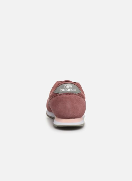 Trainers New Balance YC420 M Pink view from the right