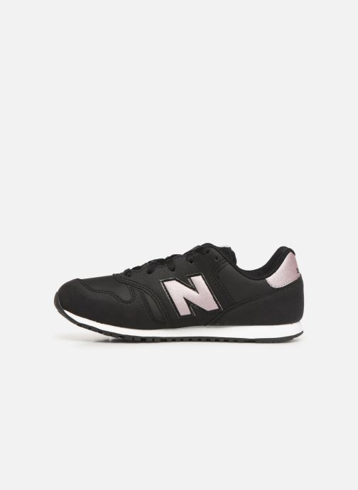Baskets New Balance KJ373 M SMU Noir vue face