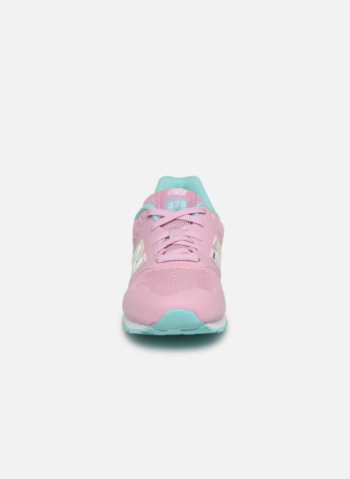 Trainers New Balance YR373 M Pink model view
