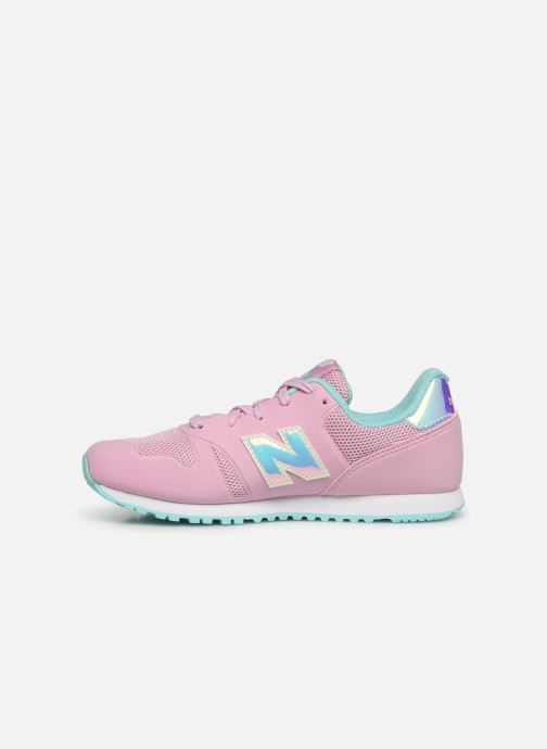 Trainers New Balance YR373 M Pink front view