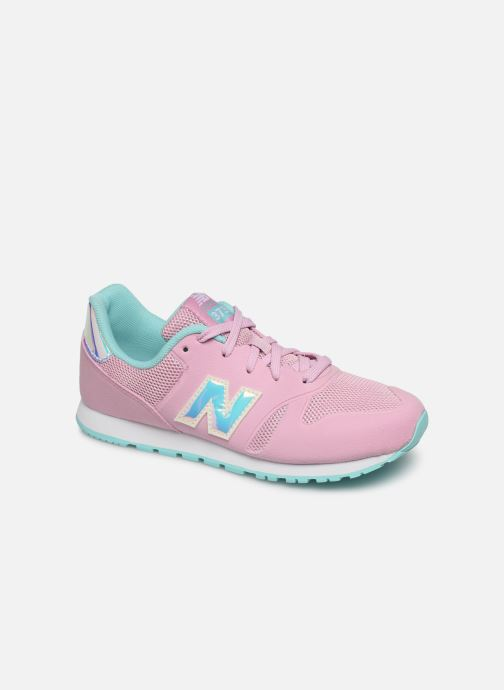 Trainers New Balance YR373 M Pink detailed view/ Pair view