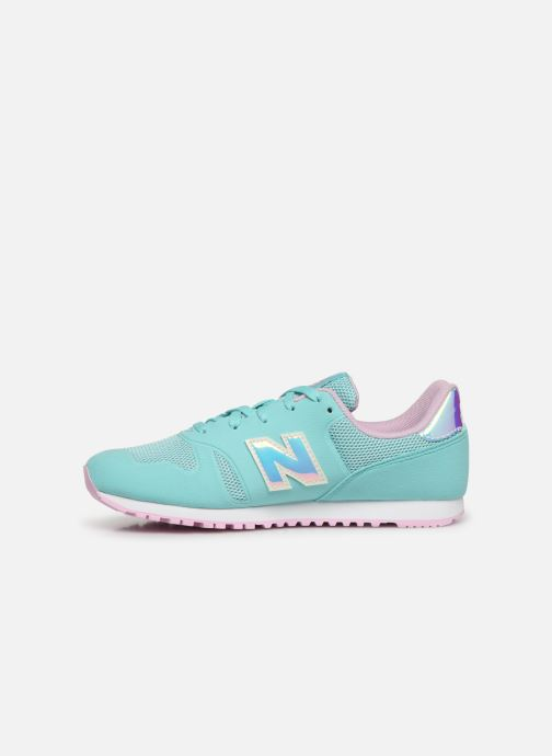 Sneakers New Balance YR373 M Blauw voorkant