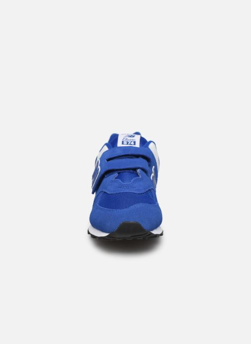 Trainers New Balance YV574 M Blue model view