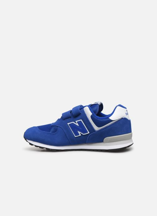 Trainers New Balance YV574 M Blue front view
