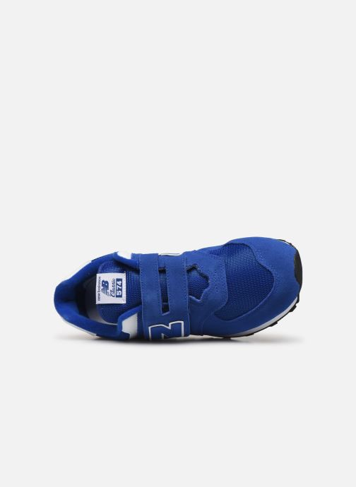 Trainers New Balance YV574 M Blue view from the left