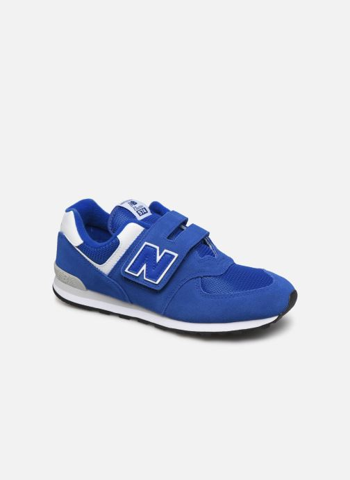 Trainers New Balance YV574 M Blue detailed view/ Pair view