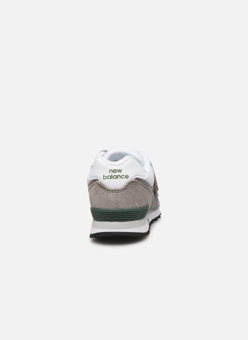 Sneaker New Balance YV574 M grün ansicht von rechts
