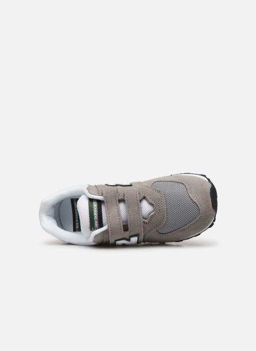 Sneaker New Balance YV574 M grün ansicht von links