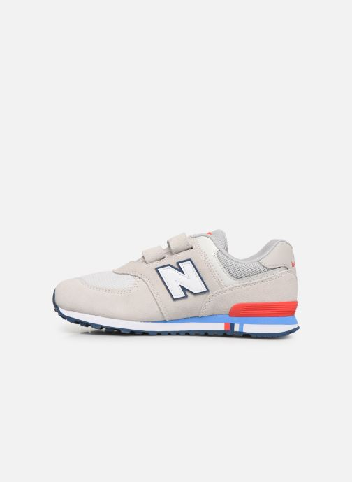 Baskets New Balance YV574 M Gris vue face