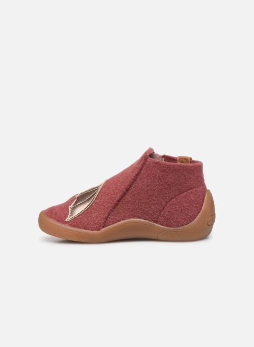 Chaussons Babybotte Marie Rose vue face