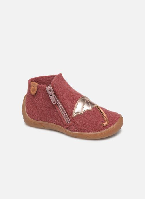 Hjemmesko Babybotte Marie Pink detaljeret billede af skoene