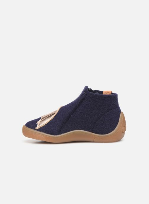 Pantoffels Babybotte Marie Blauw voorkant