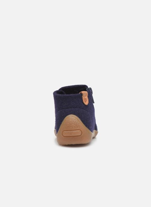 Slippers Babybotte Marie Blue view from the right