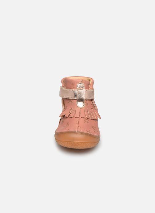 Slippers Babybotte Zazy Pink model view