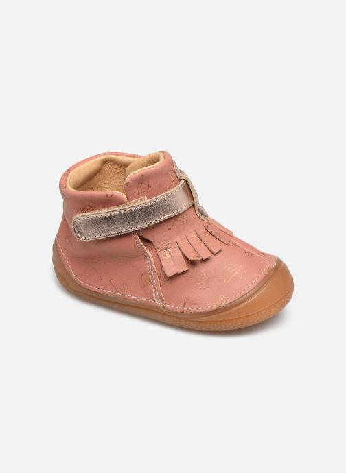 Slippers Babybotte Zazy Pink detailed view/ Pair view