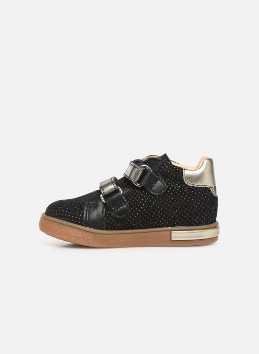Sneaker Babybotte Azaliss schwarz ansicht von vorne