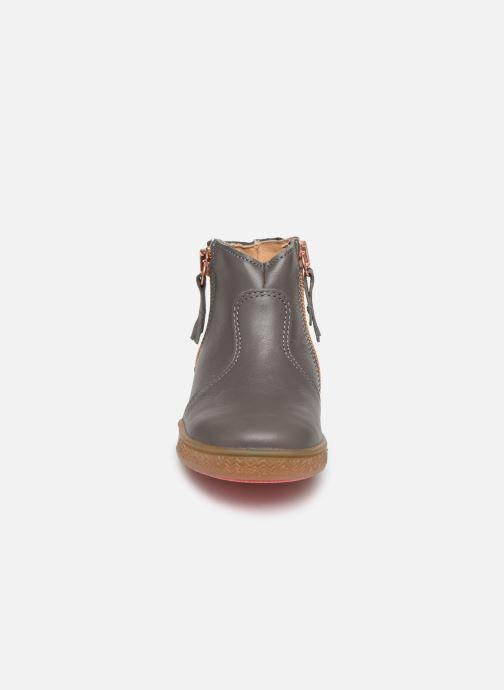 Bottines et boots Babybotte Alouest Gris vue portées chaussures