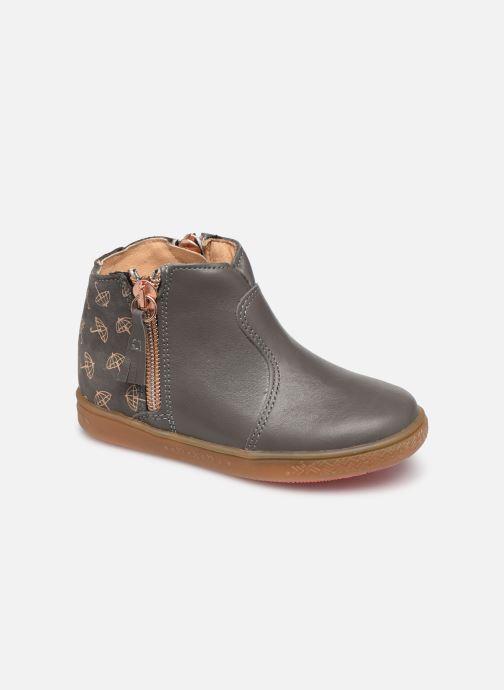 Bottines et boots Babybotte Alouest Gris vue détail/paire