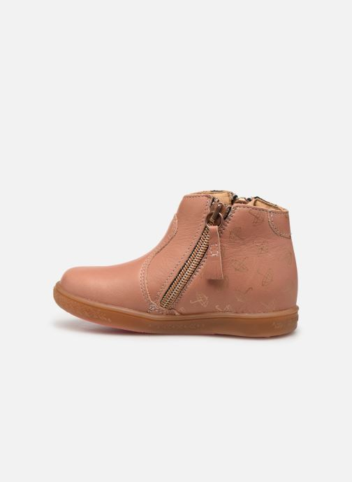 Ankle boots Babybotte Alouest Pink front view