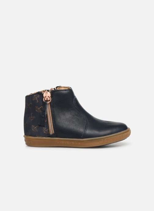 Ankle boots Babybotte Alouest Blue back view