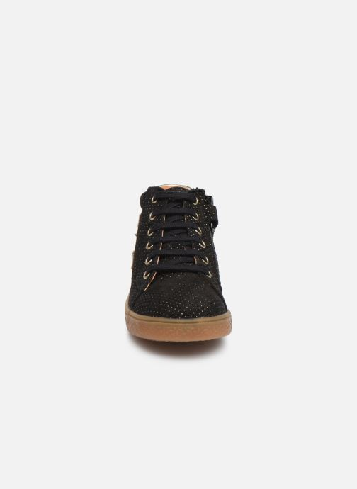 Baskets Babybotte Kling Noir vue portées chaussures