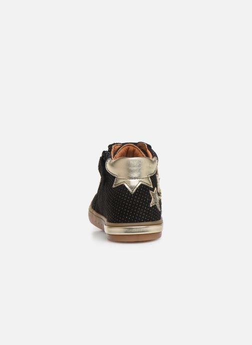 Sneaker Babybotte Kling schwarz ansicht von rechts