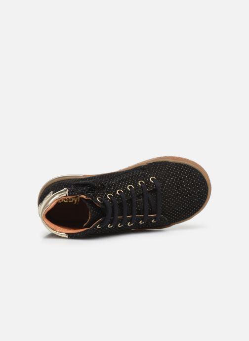Sneaker Babybotte Kling schwarz ansicht von links