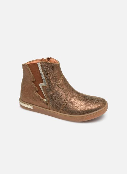 Bottines et boots Babybotte Kizzy Marron vue détail/paire