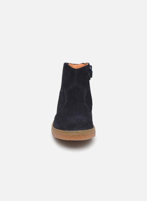 Bottines et boots Babybotte Kizzy Bleu vue portées chaussures
