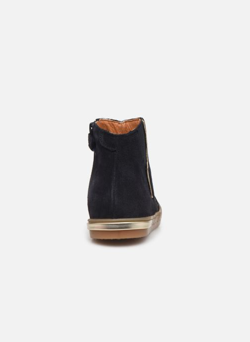 Ankle boots Babybotte Kizzy Blue view from the right