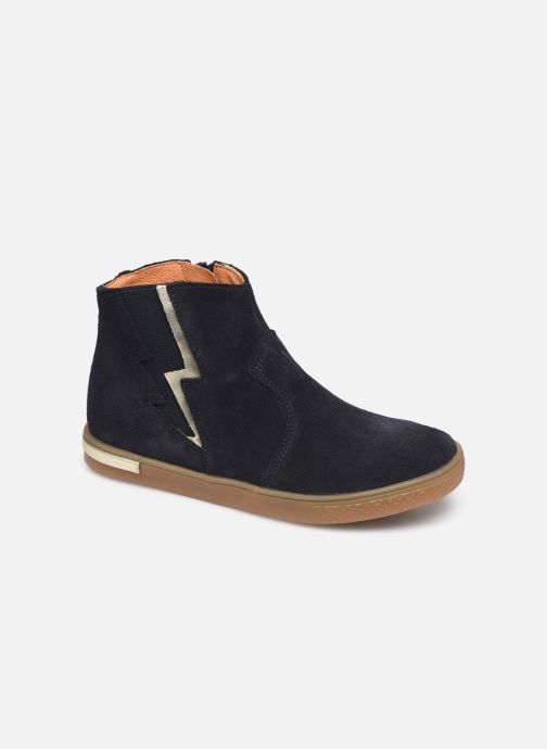 Ankle boots Babybotte Kizzy Blue detailed view/ Pair view