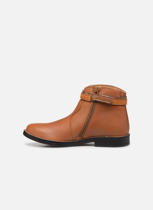 Bottines et boots Babybotte Navinsky Marron vue face