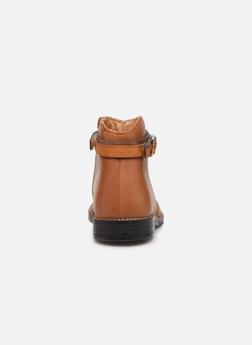 Bottines et boots Babybotte Navinsky Marron vue droite