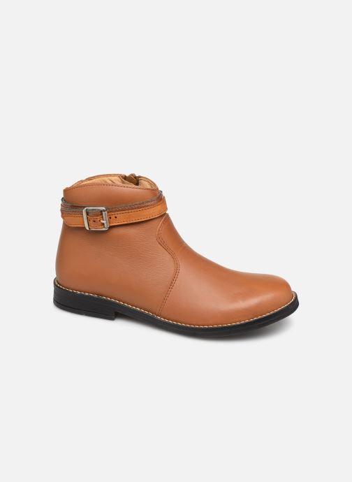 Bottines et boots Babybotte Navinsky Marron vue détail/paire