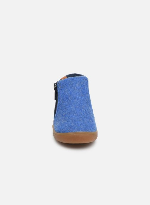 Pantoffels Babybotte Musicien Blauw model