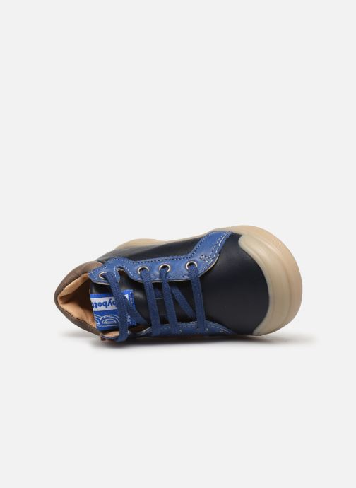 Botines  Babybotte Fleche Azul vista lateral izquierda
