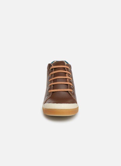 Bottines et boots Babybotte Adan Marron vue portées chaussures