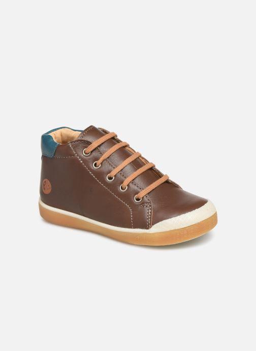Bottines et boots Babybotte Adan Marron vue détail/paire