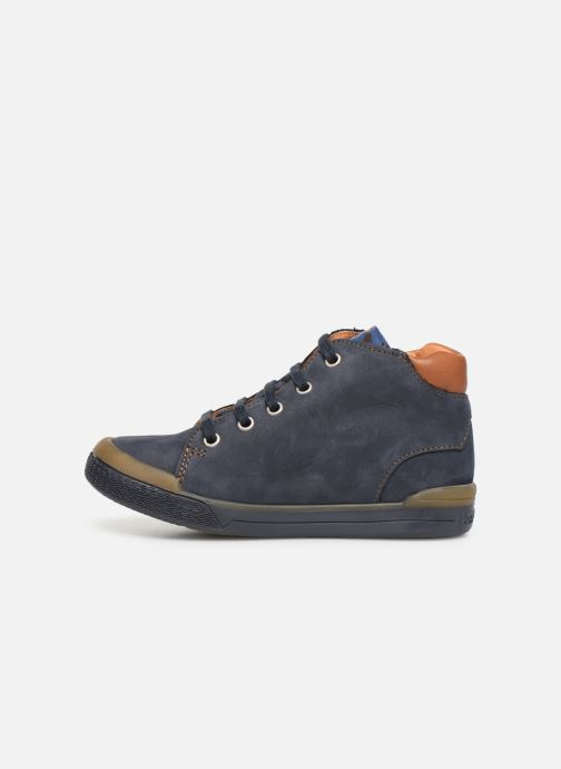 Ankle boots Babybotte B3 Blue front view