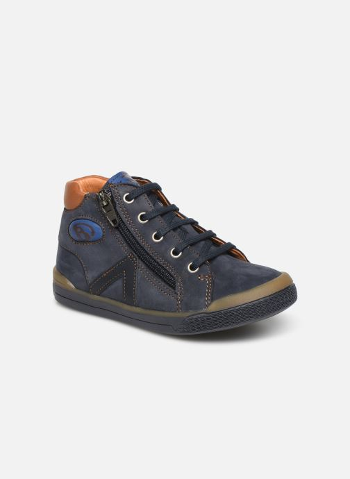 Ankle boots Babybotte B3 Blue detailed view/ Pair view