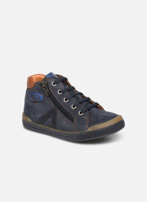 Ankelstøvler Babybotte B3 Blå detaljeret billede af skoene