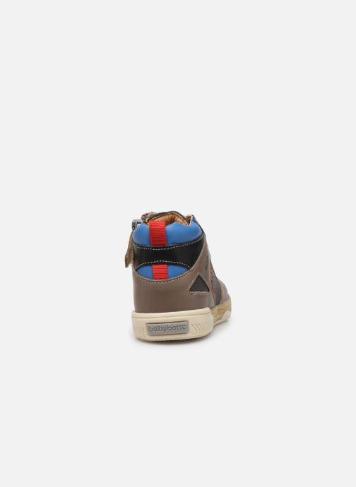 Stiefeletten & Boots Babybotte Atchoum grau ansicht von rechts