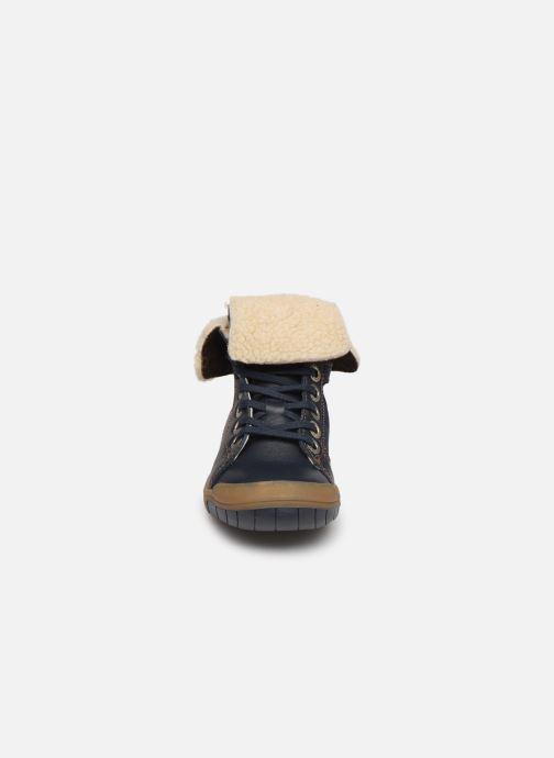Ankelstøvler Babybotte Aulafl Blå se skoene på