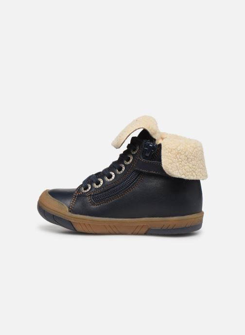 Boots en enkellaarsjes Babybotte Aulafl Blauw voorkant