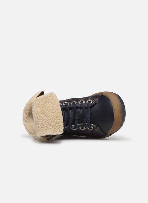 Boots en enkellaarsjes Babybotte Aulafl Blauw links