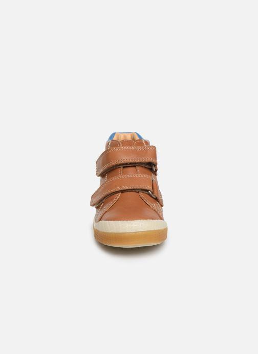 Bottines et boots Babybotte Arman Marron vue portées chaussures